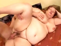 bbw grannie bonks with youthful