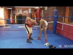 world milf weight champion. got tits like boxing