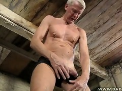 hung dad loves pain