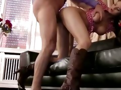 young euro babe ravaged by old dude cock