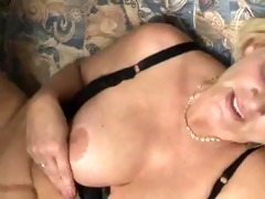 horny granny receives drilled by a muscled guy