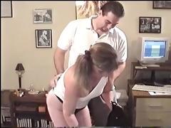 young granny giving a oral-job