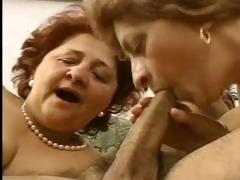 two grandmas fuck 30something hawt hunk.