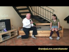 young sweetheart likes a old man