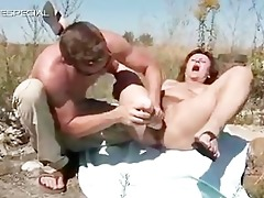 horny milf gets her curly muf screwed part4