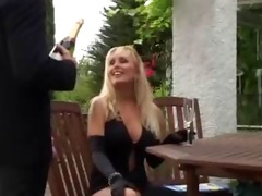 unknown blonde older mother fucked in public