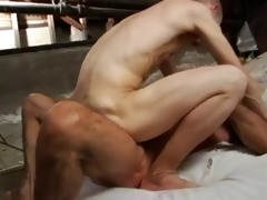 tatooed servicing dad hardcore bb creamy fuck