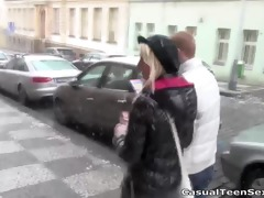 old trick works on youthful pussy