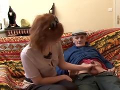 grandpapa is horny again - telsev