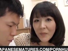 obscene mamma enjoys younger penis
