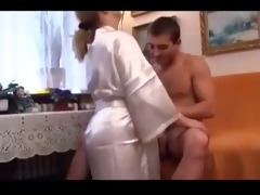 older mother tempted youthful man