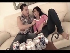 asian brother and drunk step-sister at